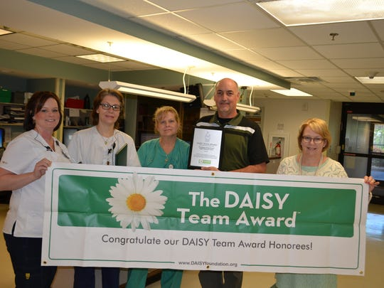 Angel Medical Center's Team 2017 DAISY Award recipients: