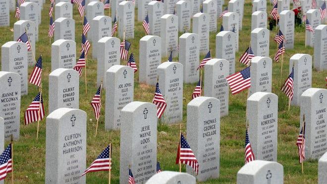The Northwest Louisiana Veterans Cemetery in Keithville. Cemetery in Keithville