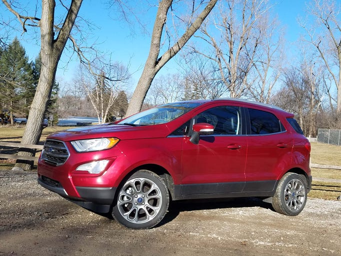 The 2018 Ford Ecosport makes its debut in the U.S.