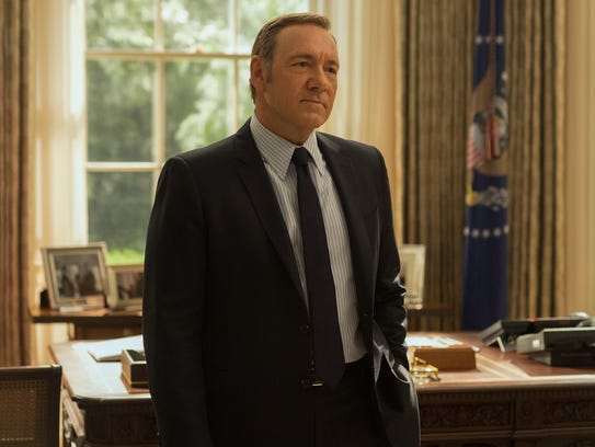 Kevin Spacey in Netflix's 'House of Cards.'