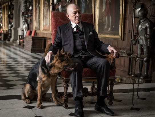 Christopher Plummer, seen here in 'All the Money in the World,' is an Oscar nominee for supporting actor for his portrayal of billionaire J. Paul Getty.