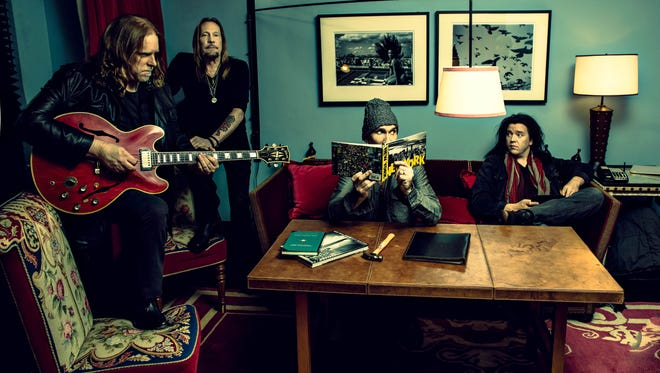 Gov't Mule, featuring, from left, Warren Haynes, Matt Abts, Ulster County native Danny Louis and Jorgen Carlsson, is scheduled to perform at the 10th annual Mountain Jam.