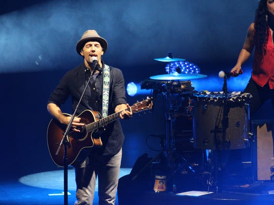 Jason Mraz will perform 8 p.m. March 24 at Shreveport Municipal Auditorium.