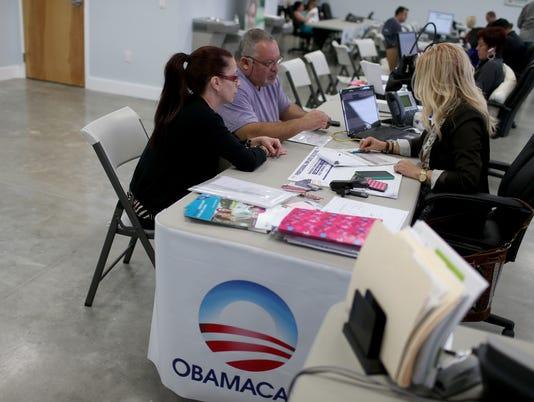 Obamacare signup