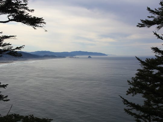 View from Cape Trail at Cape Lookout State Park on the Oregon Coast.
