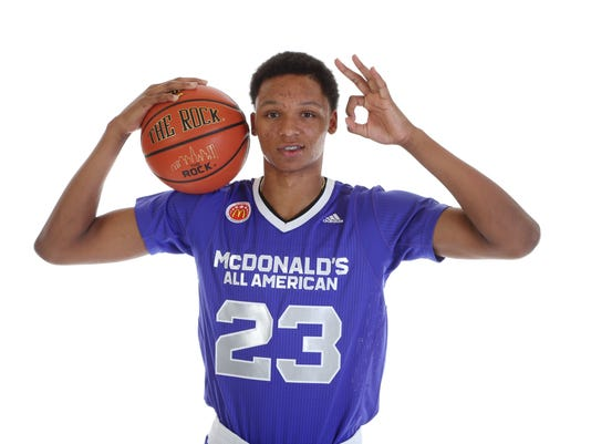 High School Basketball:  McDonald's All-American Portraits