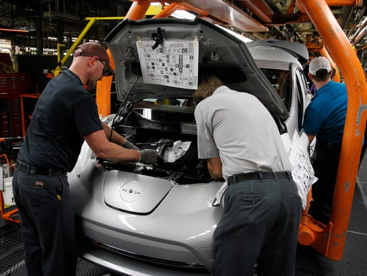 Nissan Begins U.S. Assembly of 2013 LEAF Electric Vehicle and Ba