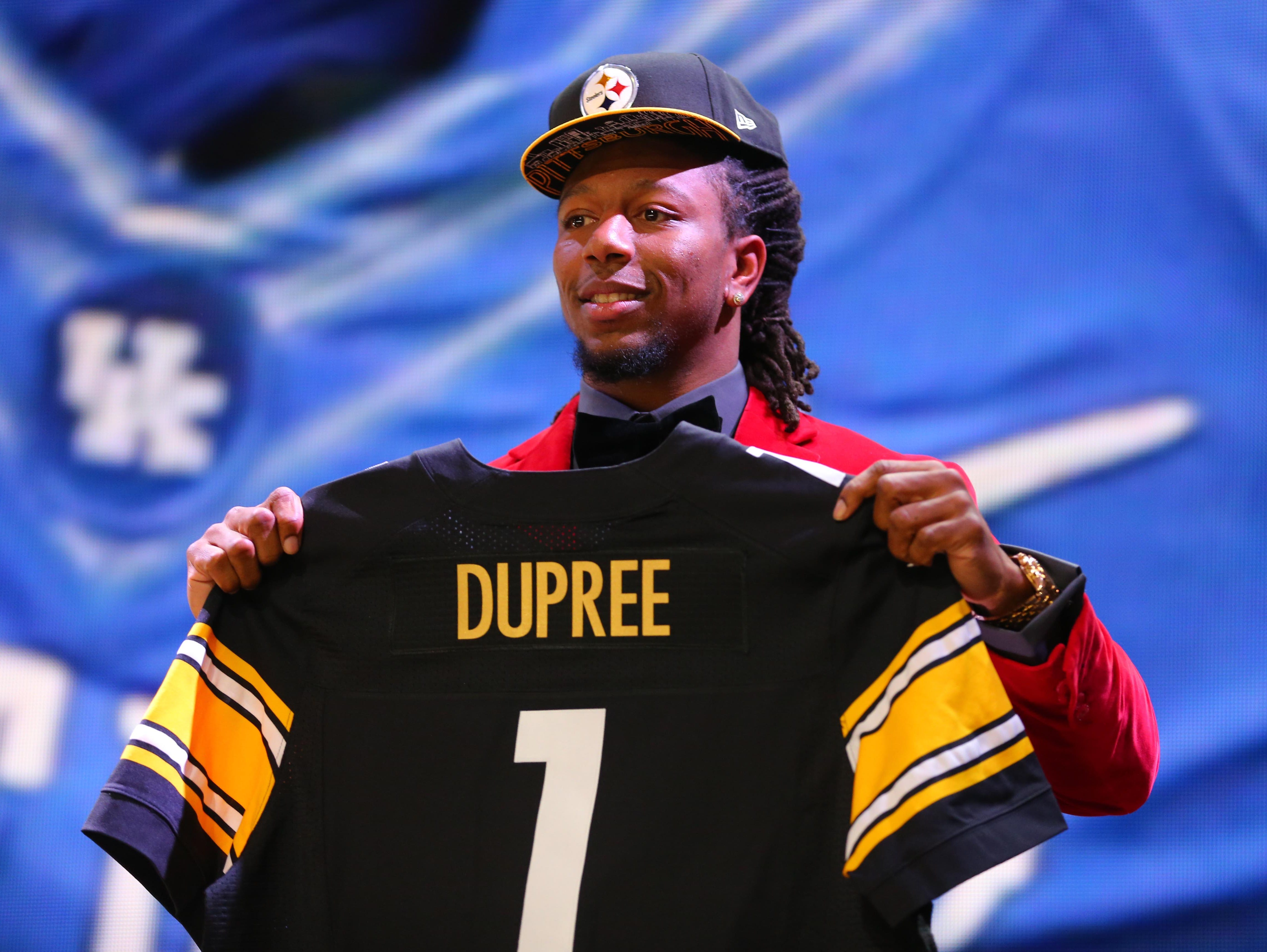 NFL Draft | UK's Dupree goes 22nd to Steelers | USA TODAY ...