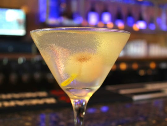 The Lychee Martini at Maguro Japanese Steakhouse in