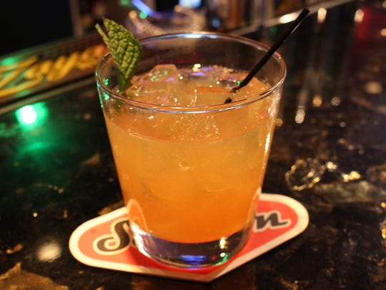 The Bourbon Smash at Seventh Avenue Social  off Fifth