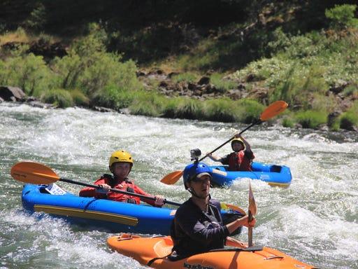 Oregon raft, kayak fees would increase to $17 per year under