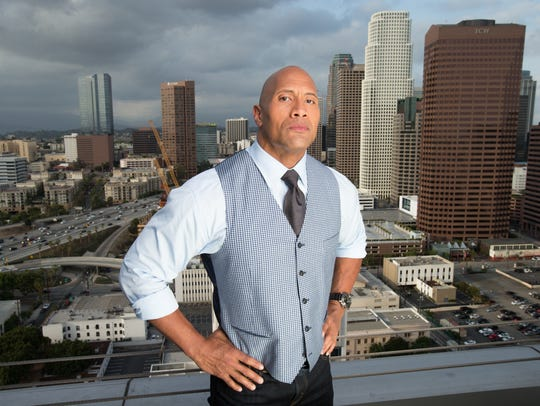 Dwayne Johnson stars in the action/disaster film 'San