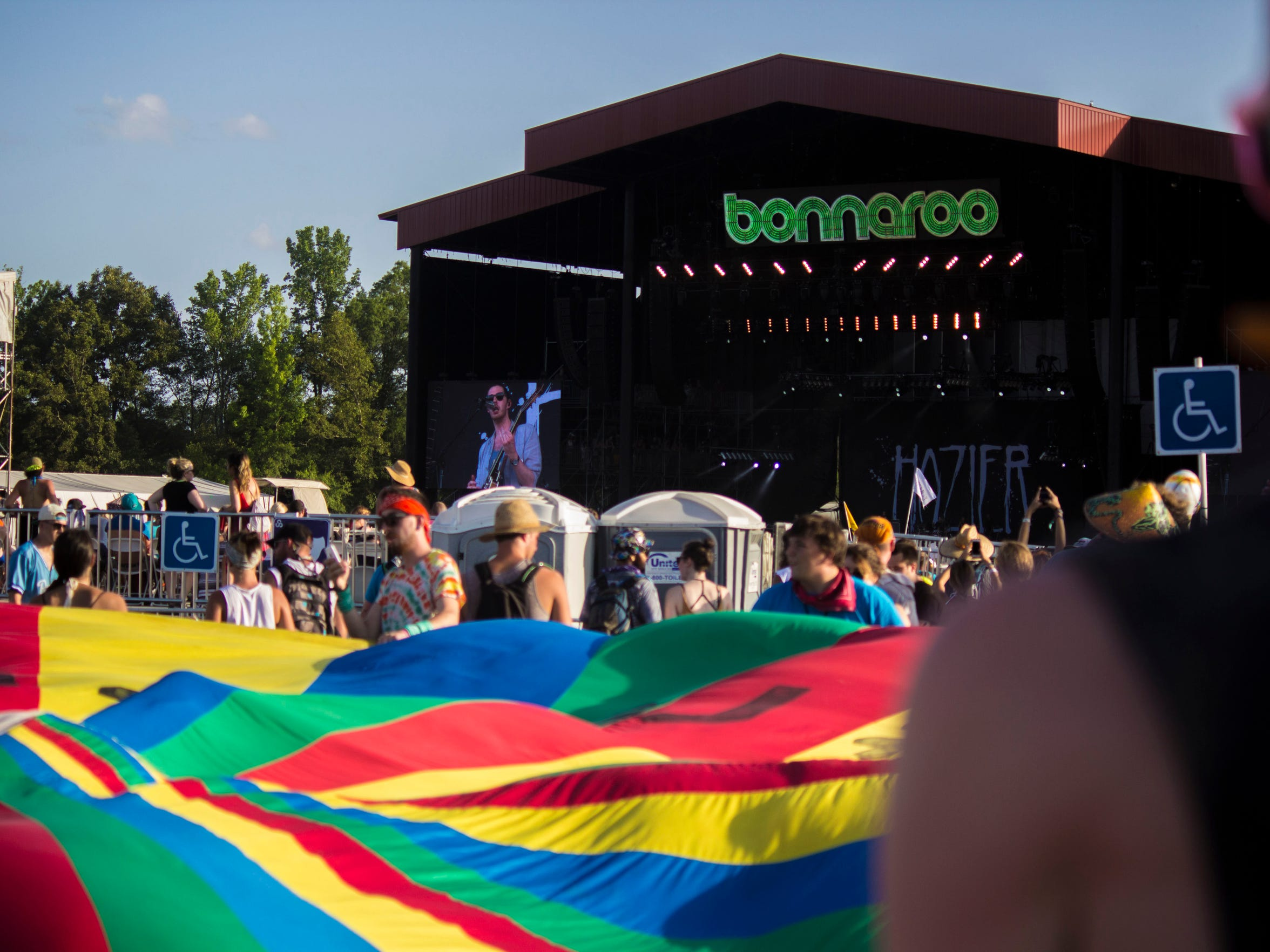 Manchester, Tenn. plays host to the Bonnaroo Arts and Music Festival each June.