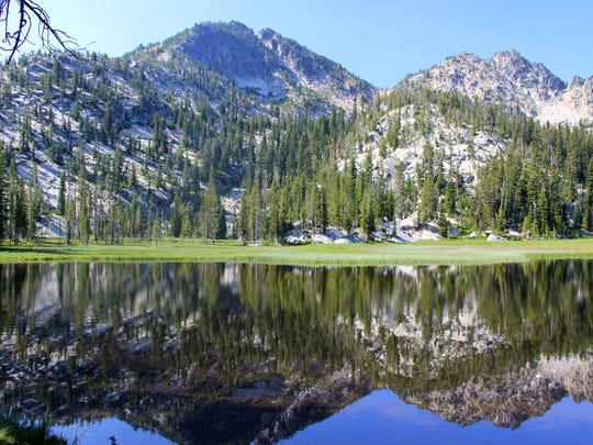 The Hoffer Lakes, are a one mile hike from Anthony Lake in the Elkhorn Mountains of Eastern Oregon west of Baker City.