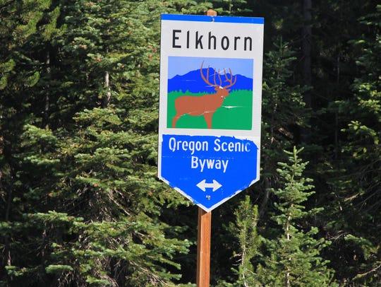 Elkhorn Scenic Byway.