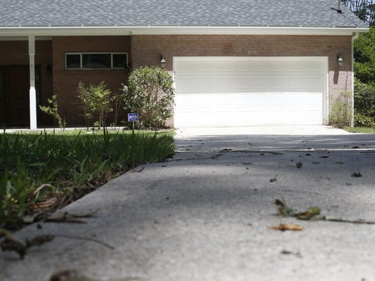 The Betton Hills home where Florida State University law professor Dan Markel was shot in his garage on July 18, 2014. The murder investigation remains open with no suspects almost a year later.