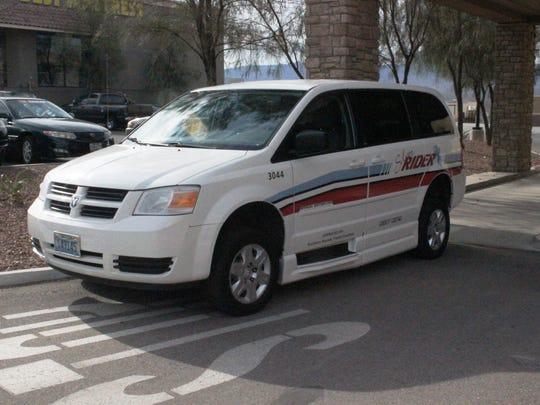 Silver Rider has four vans.