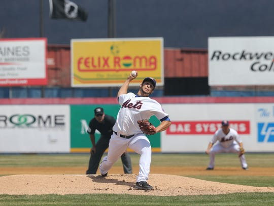 At Double-A Binghamton, Luis Cessa went 7-4 with a