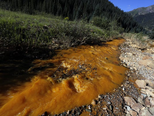 Colorado mine spill