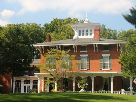 The Franke-Oakhill mansion in Marshall, Michigan will be part of the 2015 historic homes tour Sept. 12-13.