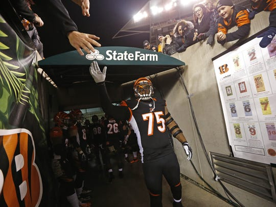 Defensive tackle Devon Still made the Cincinnati Bengals'