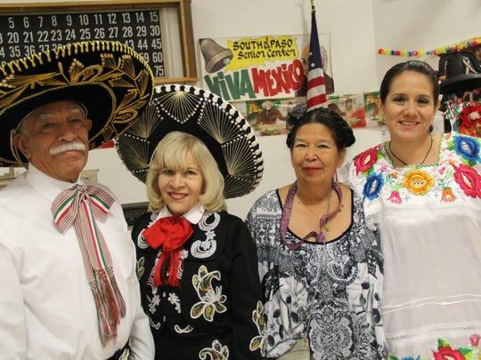 Manuel Rodriguez, left to right, Velia Rodriguez, Yolanda