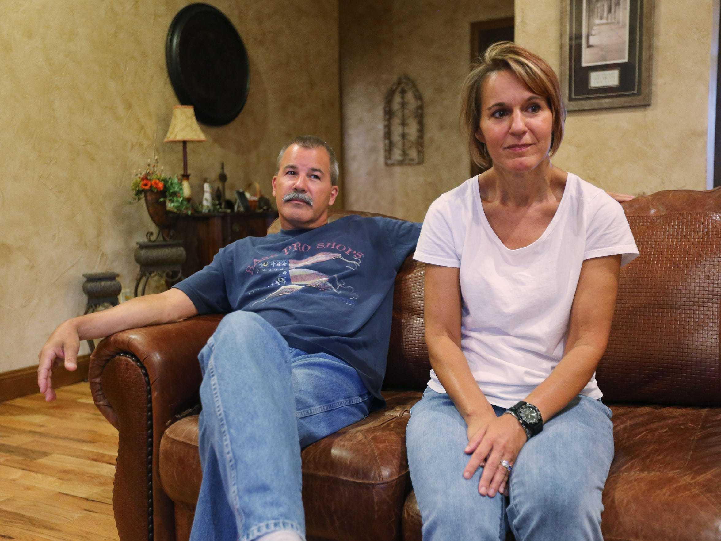 William and Patricia Lammers have struggled to find