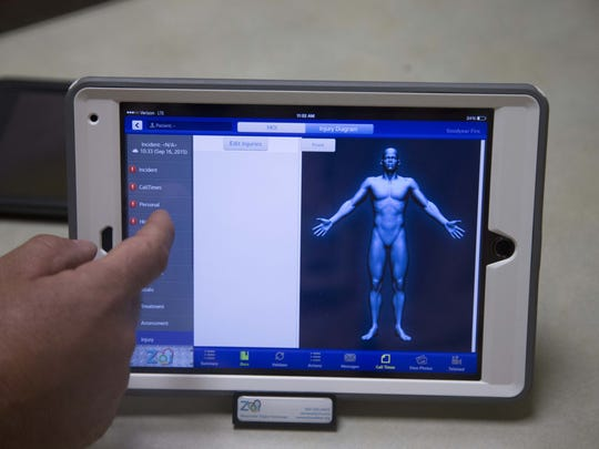The Goodyear Fire Department demonstrates digital ePCR