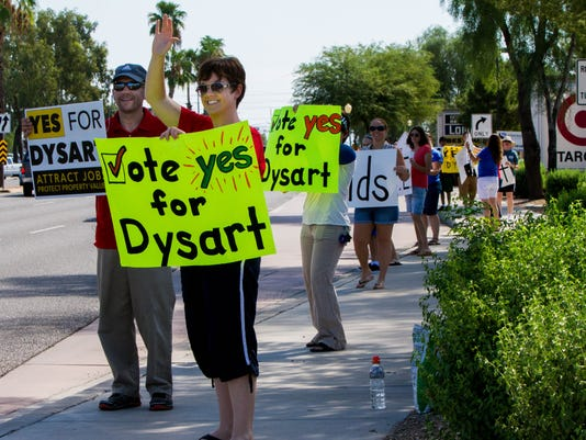 Dysart Unified School District override election