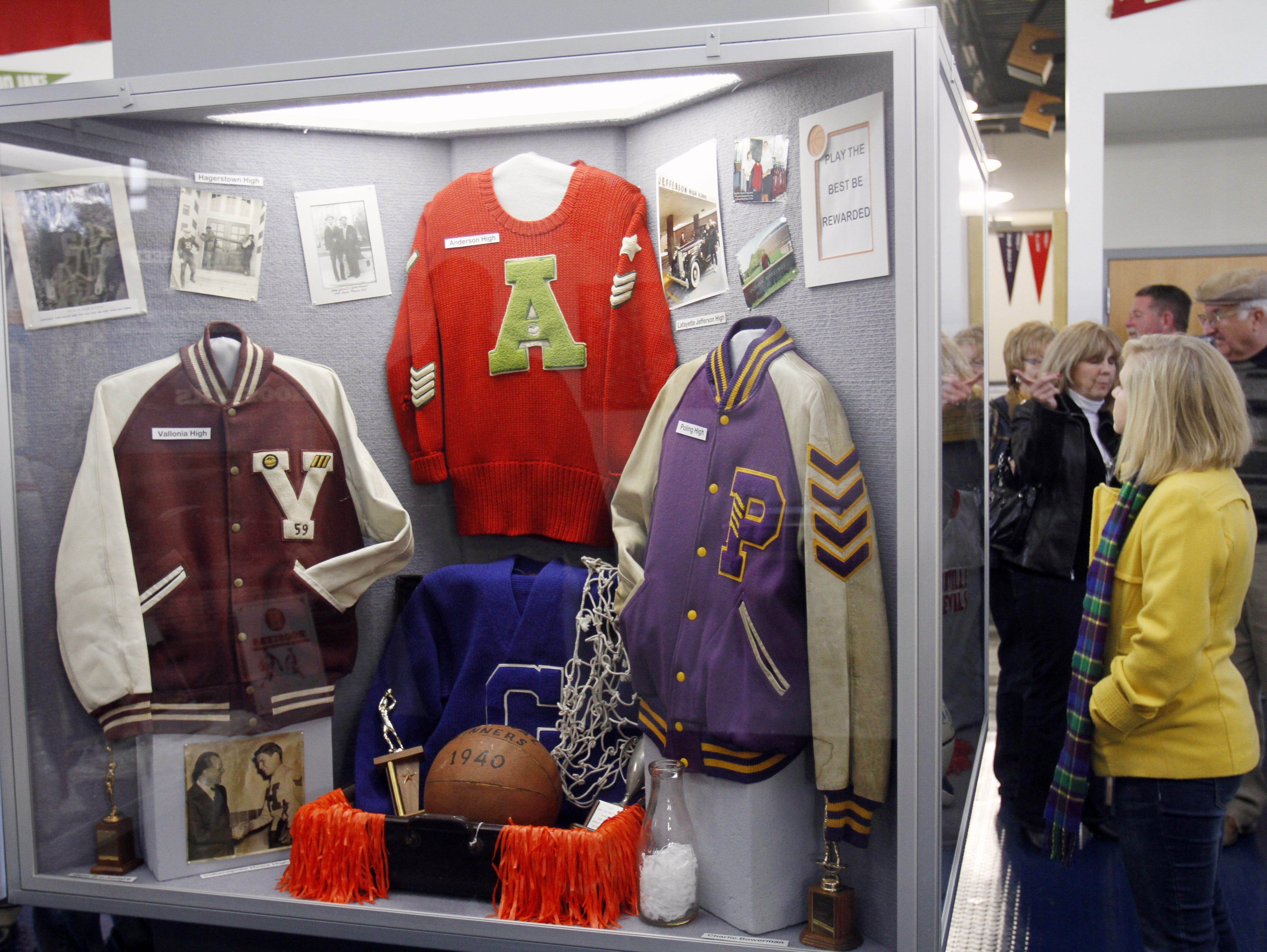FILE -- Gregg Doyel visited the Indiana Basketball Hall of Fame in attempts to add his candidate.