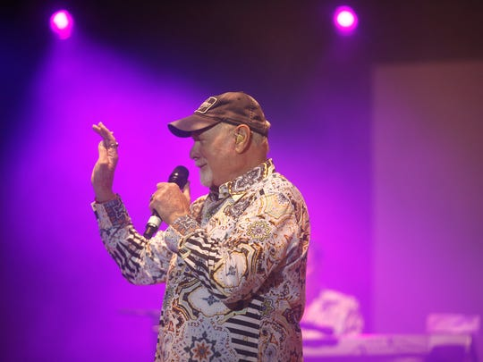 Mike Love of the Beach Boys will play to a sold-out Opening Nights concert at 7:30 p.m. Friday.