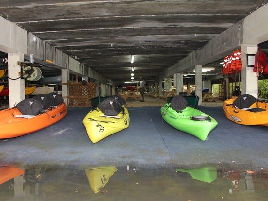 Naples Marina & Excursion is  creating a Haunted Kayak