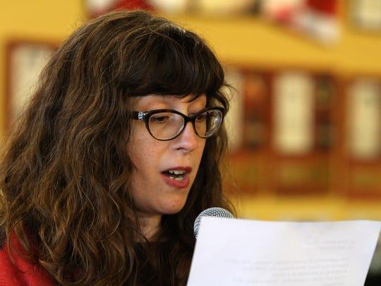 Jen DiOrio, an English and creative writing teacher,