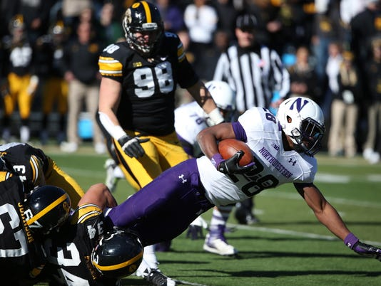 NCAA Football: Northwestern at Iowa