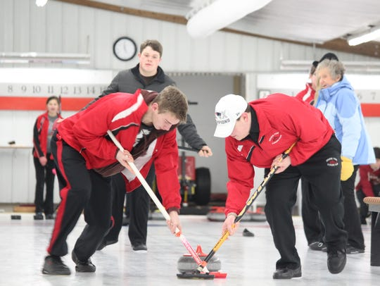 The Stevens Point Curling Club will be hosting several