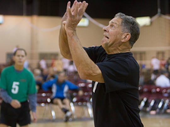 Senior athletes compete in the final days of the Huntsman World Senior Games Saturday, Oct. 17, 2015.