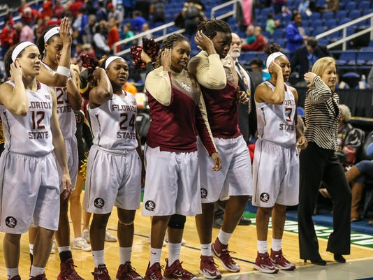 NCAA Womens Basketball: ACC Conference Tournament - Florida State vs Louisville