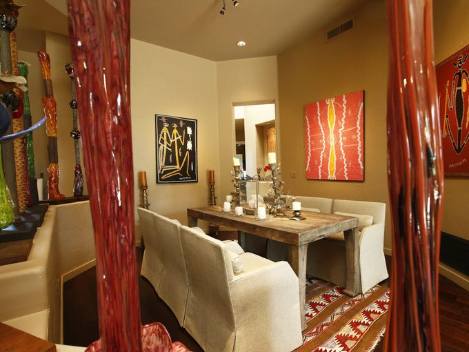 The Flittie home dining room in Cheney Estates on Oct.