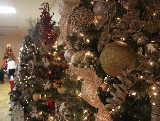 The 50th Assistance League Christmas Tree Auction boasted