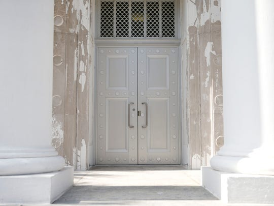 The door to the Florida Supreme Court.