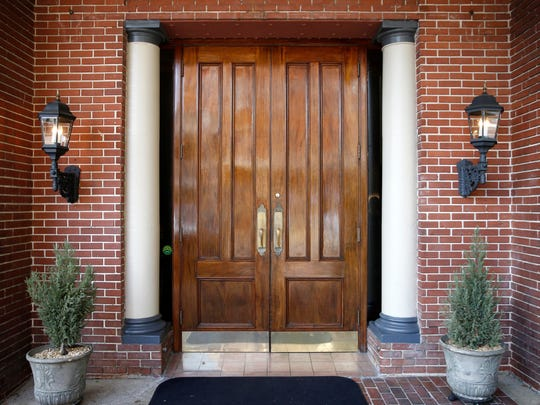 The door to the Governors Club.