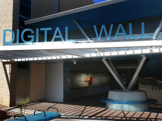 DIGIE, the Digital Information Gateway in El Paso, is outside the El Paso Museum of History. The wall allows visitors to examine the area's people and its cultures on a touch-sensitive monitor. It has a variety of photos and videos. People can upload their photos to DIGIE by visiting www.digie.org. DIGIE is free to use.