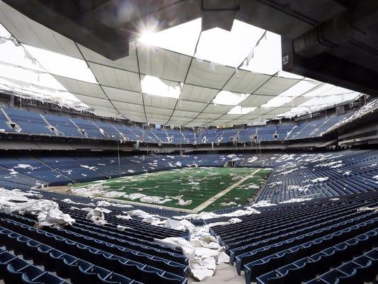 The Pontiac Silverdome