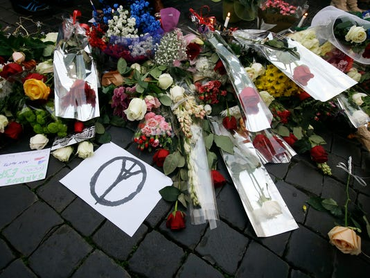 Italy France Paris Attacks