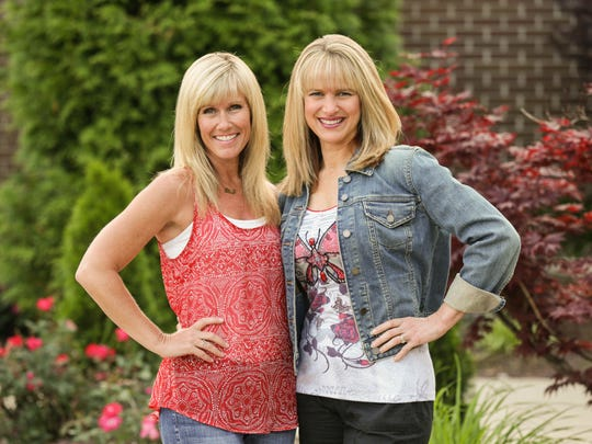 Stripped Free founders Stefanie Jeffers (left) and Kim Tabor on June 4, 2015.