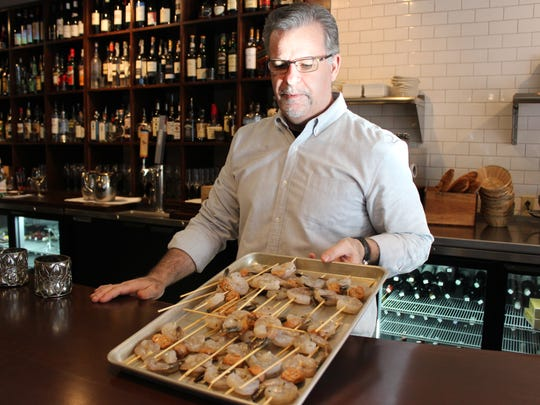 Kevin Cleary, chef/co-owner of Vin Bar and Shop, with