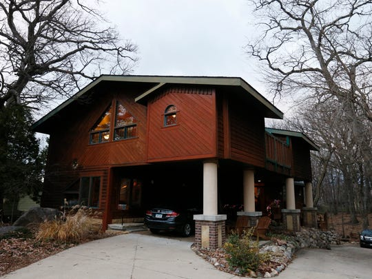 The short-term, 3,000 square-foot rental property called Beaverdale Lodge features three full bedrooms, a great room, chef's kitchen and other amenities Tuesday, Dec. 1, 2015 in Des Moines.