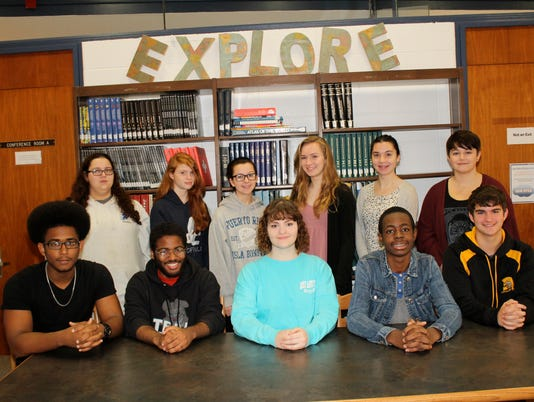 Millville High School Students of the Month October 2015