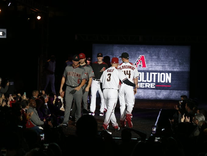 The Arizona Diamondbacks unveiled new uniforms for