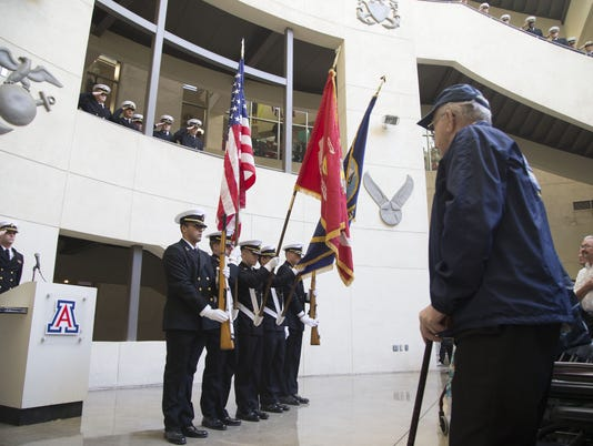 USS Arizona - Lauren Bruner